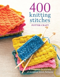 400 Knitting Stitches: A Complete Dictionary of Essential Stitch Patterns Photo
